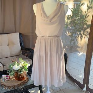Blush/cream Colored Dress